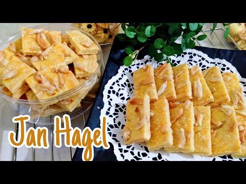 Resep Jan Hagel Cookies • Holland Cookies😍👍🏼