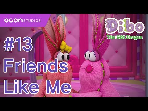 [Dibo the gift dragon] #13 Friends Like Me(ENG DUB)ㅣOCON