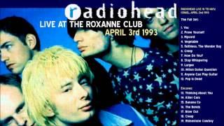 רדיוהד בישראל 1993 הקלטה של ההופעה בתל-אביב במועדון הרוקסן