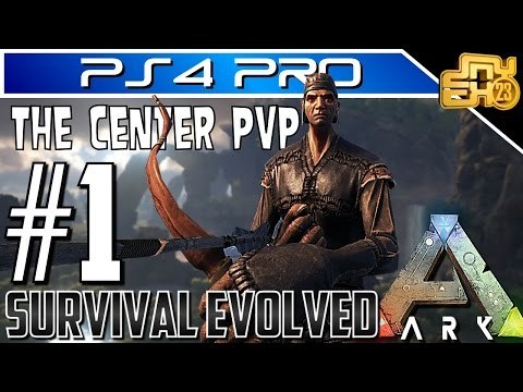ARK OFFICIAL PVP on PS4 (THE CENTER) - EP 1 - THEY MESSED WITH THE WRONG GUY