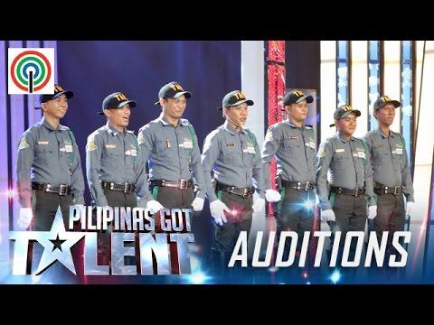 Pilipinas Got Talent Season 5 Auditions: Tagum City Traffic Enforcers - Dance Group