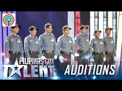 Pilipinas Got Talent Season 5 Auditions: Tagum City Traffic Enforcers - Dance Group