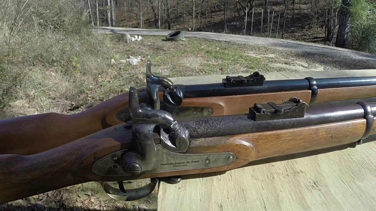 Comparison of Original & Reproduction 1853 Enfield Rifles