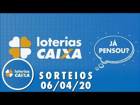 Loterias Caixa: Quina e Lotofácil 06/04/2020