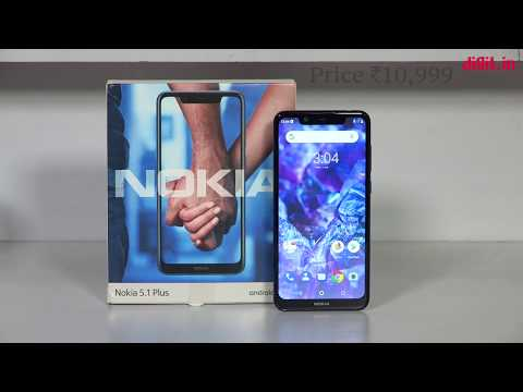 Nokia 5.1 Plus Unboxing & First Look  | Digit.in