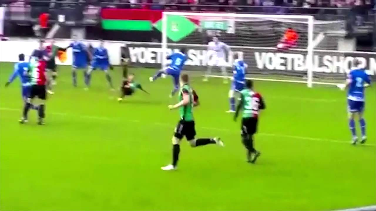 Alireza Jahanbakhsh AMAZING VOLLEY GOAL NEC Nijmegen Vs