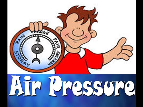 What is Atmospheric Pressure - for kids