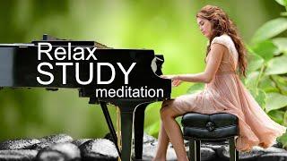 Красивая расслабляющая фортепианная музыка для снятия стресса,учебы-успокаивающие звуки текущей воды