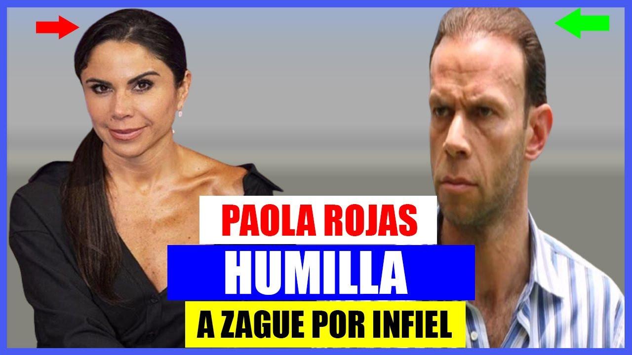 PAOLA ROJAS DEJA EN SHOCK A TELEVISA AL HUMILLAR EN VIVO A 'ZAGUE' POR INFIEL😱😱