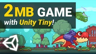 Unity Tiny Overview! – Making Instant Mobile Games With Unity 2019