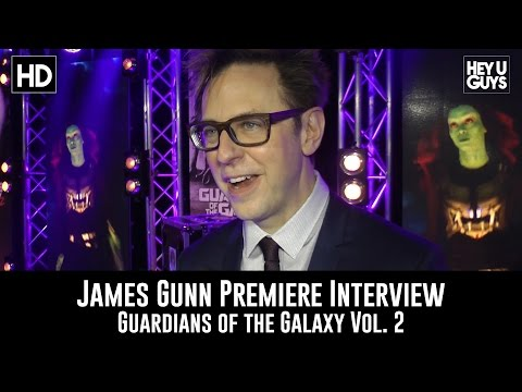 James Gunn Premiere Interview - Guardians of the Galaxy Vol. 2