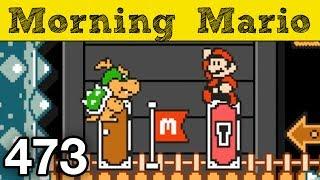Morning Mario 473 - Bowser Jr s Pink Coin Castle