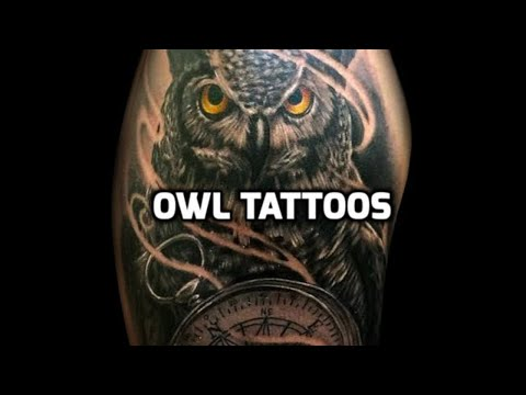 Owl Tattoo Designs Owl Tattoos Youtube