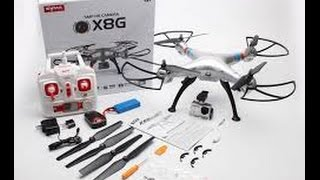 Best drone under $100 with camera | Syma X8G unboxing