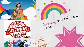 Giveaway $60 Gift Card Collab