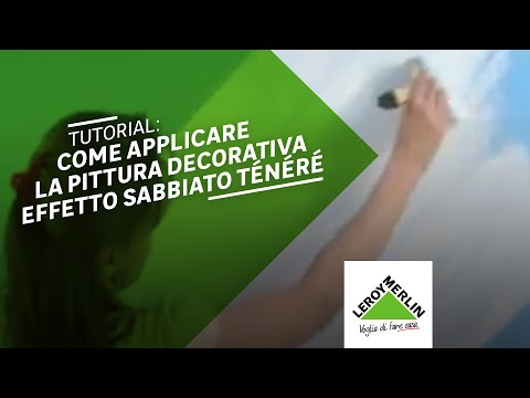 Come Applicare La Pittura Decorativa Ténéré Leroy Merlin