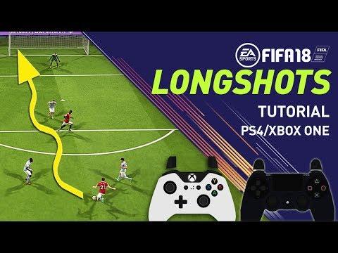 FIFA 18 TIROS LEJANOS - TUTORIAL LONGSHOTS - Anotar Gol De Larga Distancia En FIFA 18!!!
