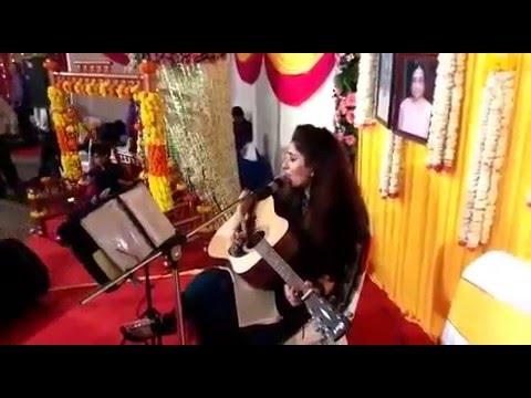 Tu Jaane Na (Live Guitar Cover) Atif Aslam / Kailash Kher By Shweta Kochhar