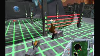 Jimmy Neutron Jet Fusion Walkthrough PS2 Part 11: World 5, Stage 1-The Communications Stations 1/2