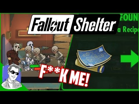 Fallout Shelter Vault 628 Legendary Blueprints Everywhere EP28