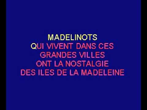 Albert Babin   Madelinot - Karaoké en Français