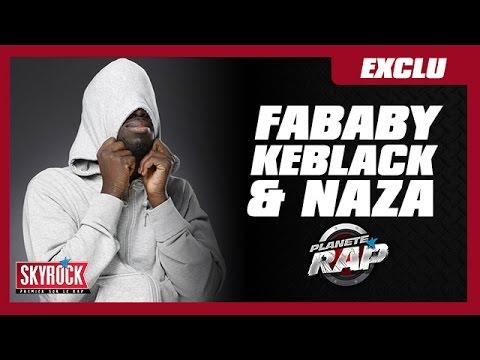 """[Exclu] Fababy, Keblack & Naza """"Physio"""" en live #PlanèteRap"""