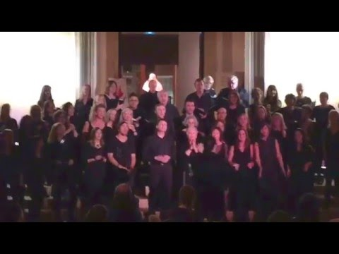 "newchoir too Performs ""Down on the Corner"" at Art Gallery of Ontario (AGO), Toronto, Canada"