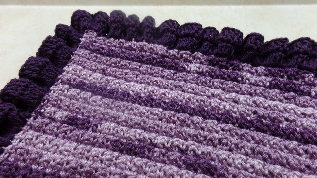 Crochet How To Crochet Ruffle Edge Baby Blanket Tutorial 318