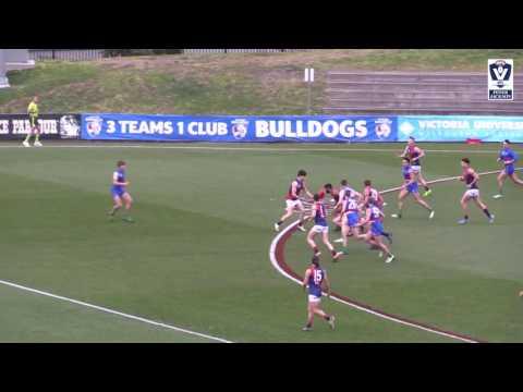 VFL Rd 14 highlights: Footscray v Coburg