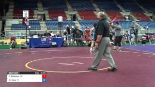 Cadet WM 164 Con Semi - Olivia Robinson (OR) vs. Mikayla Mata (TX)