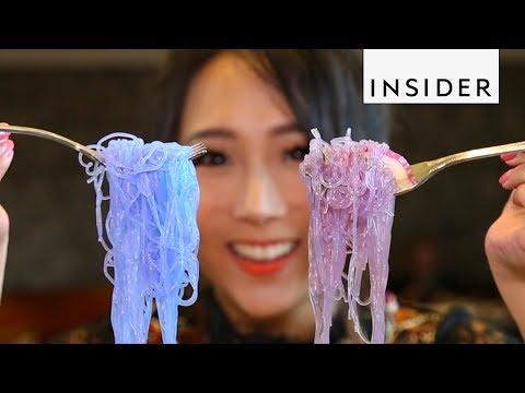 Thai Noodles Change Color