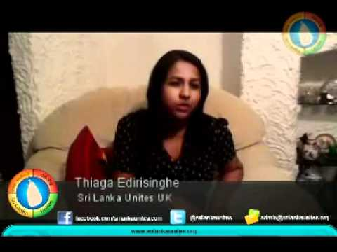 Thiaga Edirisinghe - Sri Lanka Unites UK