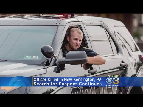 Police Officer Killed In Pennsylvania, Gunman At Large