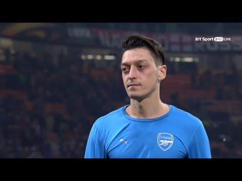 Mesut Özil vs Milan (Away) 17-18 HD 1080p