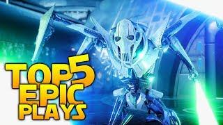 BEST GRIEVOUS CLIPS SO FAR: Battlefront 2 Top 5 Plays