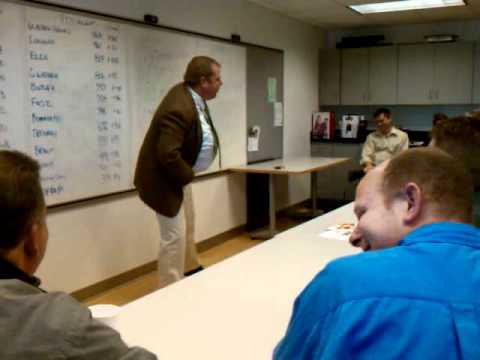 Matt Foley Motivational speaker morning meeting