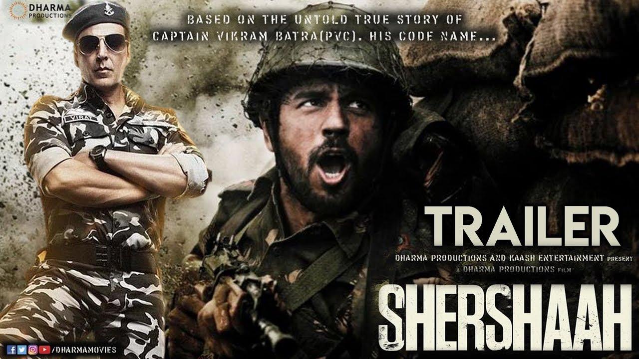 Shershaah Trailer | Sidharth Malhotra, Akshay Kumar | Kiara Advani | Karan  Johar - YouTube