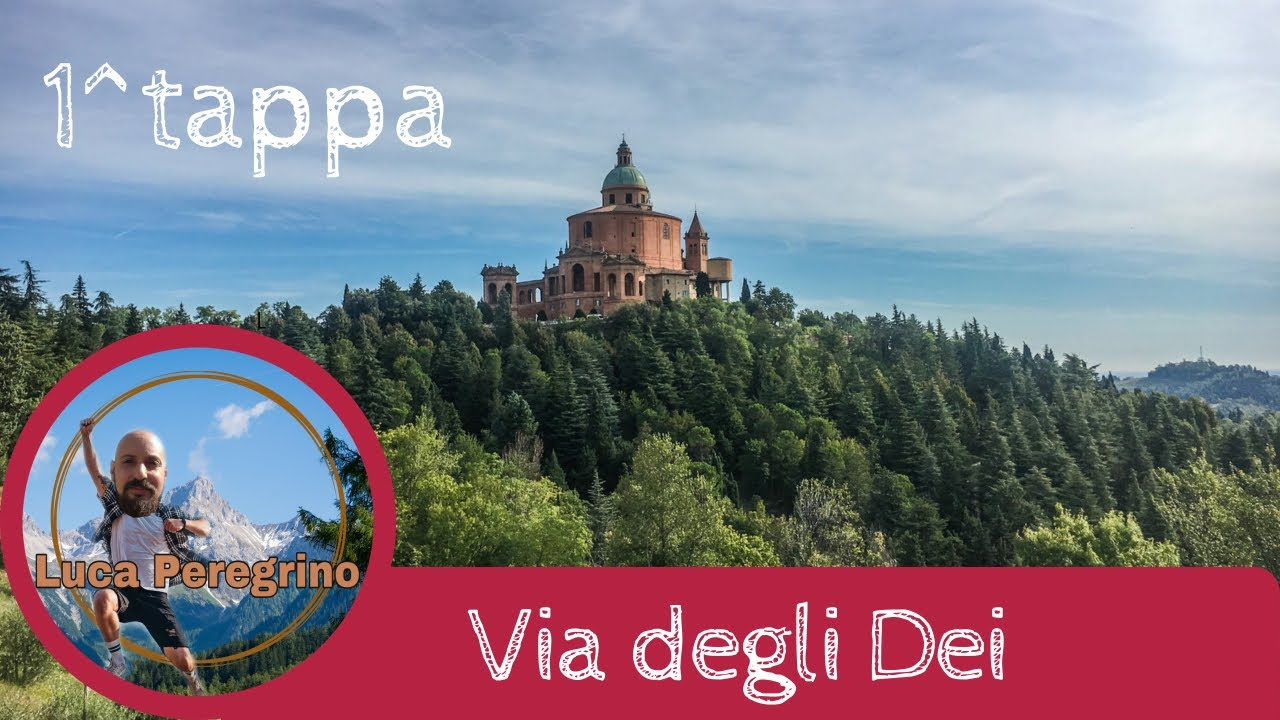 Via degli Dei prima tappa da Bologna a Brento