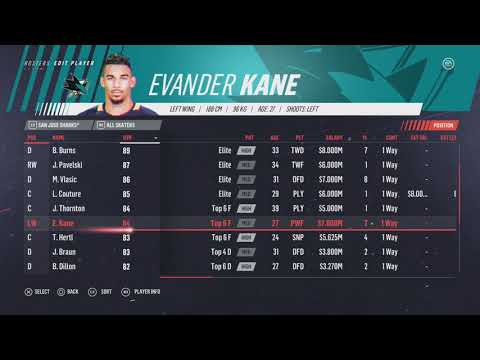 NHL 19: ALL NHL PLAYER RATINGS
