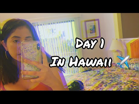 Day 1 In Hawaii