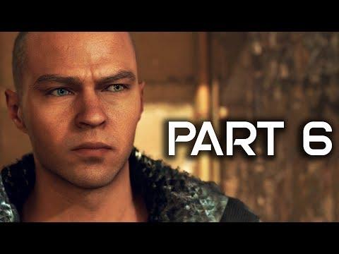 Detroit Become Human Gameplay Walkthrough Part 6 - Jericho - FULL GAME! (PS4 PRO Detroit Gameplay)