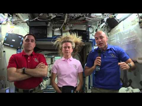 Space Station Crew Discusses Life in Space with News Media R