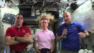 Space Station Crew Discusses Life in Space with News Media Representatives