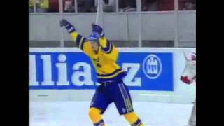 Team Sweden - All time first line in hockey (Alla tiders första femma- Tre Kronor)