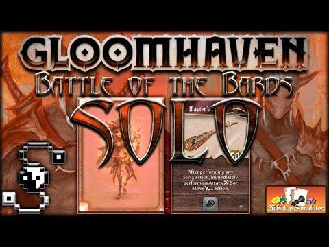Battle of the Bards (Soothsinger Solo Scenario) - Gloomhaven
