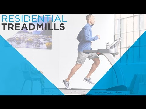 TRUE Fitness Home Treadmills