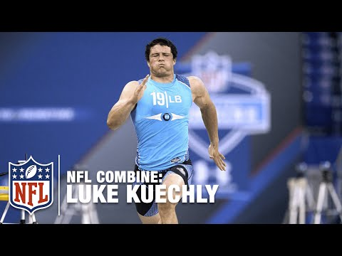 Luke Kuechly (LB, Boston College) | 2012 NFL Combine Highlights