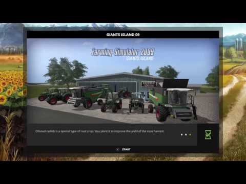 SubyWan's Live PS4 Farming Simulator 17 Giants island Broadcast