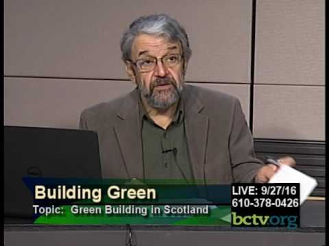 Green Building in Scotland 9-27-16