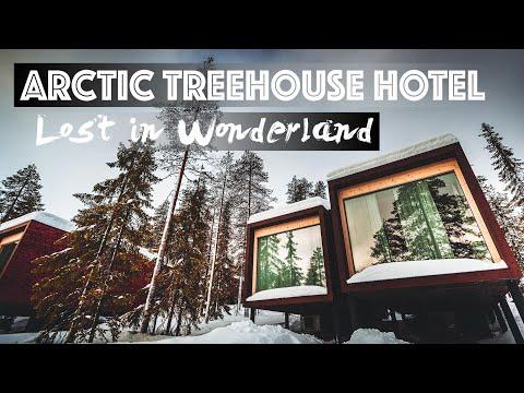 ARCTIC TREE HOUSE HOTEL - Sognare con la Lapponia!!